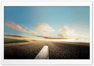 On The Road HD Wide Wallpaper for Widescreen
