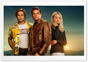 Once Upon A Time In Hollywood Movie 2019 Ultra HD Wallpaper for 4K UHD Widescreen desktop, tablet & smartphone