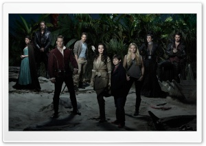 Once Upon a Time TV Show Cast HD Wide Wallpaper for Widescreen