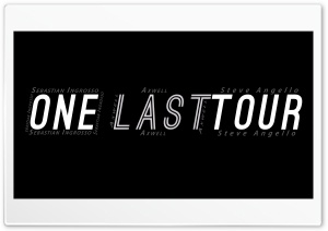 One LAST Tour HD Wide Wallpaper for Widescreen
