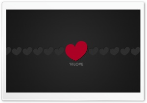 One Love HD Wide Wallpaper for Widescreen