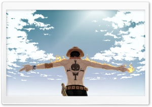 One Piece Ace HD Wide Wallpaper for Widescreen