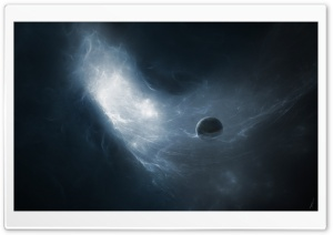 One Planet In The Galaxy HD Wide Wallpaper for Widescreen
