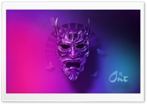 Oni Mask Ultra HD Wallpaper for 4K UHD Widescreen desktop, tablet & smartphone