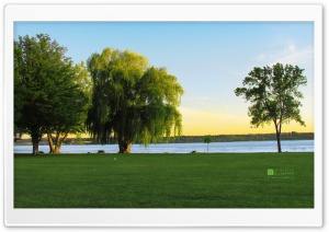 Onondaga Lake, Liverpool NY HD Wide Wallpaper for 4K UHD Widescreen desktop & smartphone