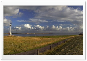 Oosterschelde Nearby Bruinisse, the Netherlands Ultra HD Wallpaper for 4K UHD Widescreen desktop, tablet & smartphone