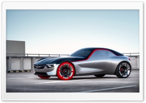Opel GT Concept Car HD Wide Wallpaper for Widescreen