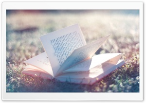 Open Book HD Wide Wallpaper for Widescreen