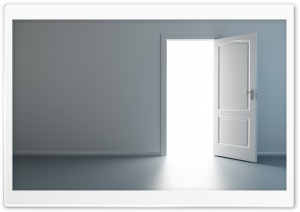 Open Door HD Wide Wallpaper for Widescreen