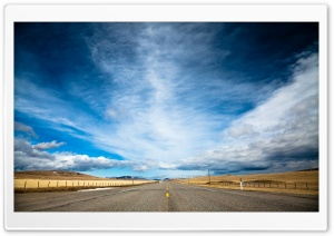 Open Road HD Wide Wallpaper for Widescreen