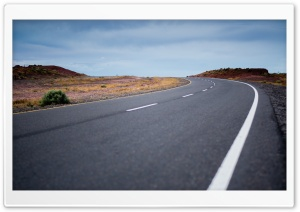 Open Road HD Wide Wallpaper for 4K UHD Widescreen desktop & smartphone