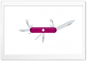 Open Swiss Army Knife HD Wide Wallpaper for Widescreen