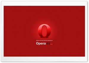 Opera 11 Beta HD Wide Wallpaper for 4K UHD Widescreen desktop & smartphone