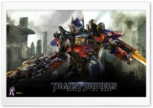 Optimus Prime - Transformers Dark Of The Moon HD Wide Wallpaper for Widescreen