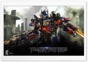 Optimus Prime - Transformers Dark Of The Moon HD Wide Wallpaper for 4K UHD Widescreen desktop & smartphone