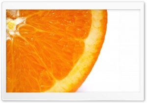 Orange HD Wide Wallpaper for Widescreen