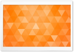 Orange Abstract Geometric Triangle Background HD Wide Wallpaper for 4K UHD Widescreen desktop & smartphone