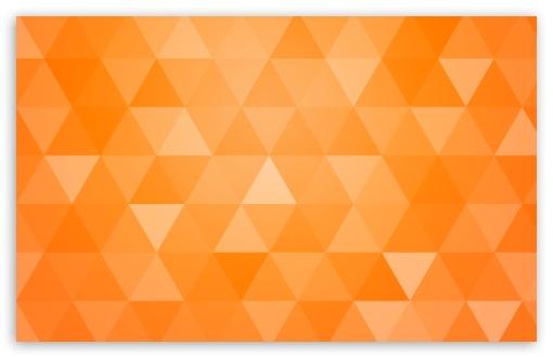 Orange Abstract Geometric Triangle Background 4k Hd