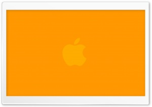 Orange Apple HD Wide Wallpaper for Widescreen
