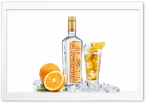 Orange Flavored Vodka HD Wide Wallpaper for Widescreen