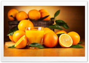Orange Food HD Wide Wallpaper for 4K UHD Widescreen desktop & smartphone