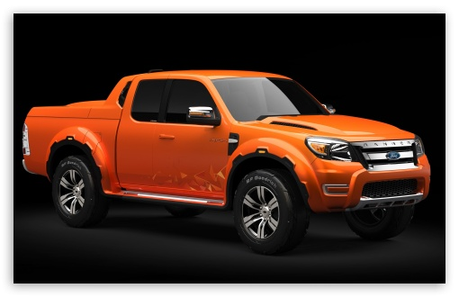 Orange Ford Ranger HD wallpaper for Wide 16:10 5:3 Widescreen WHXGA WQXGA WUXGA WXGA WGA ; HD 16:9 High Definition WQHD QWXGA 1080p 900p 720p QHD nHD ; Mobile 5:3 16:9 - WGA WQHD QWXGA 1080p 900p 720p QHD nHD ;