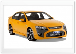 Orange FPV GT Car 1 HD Wide Wallpaper for Widescreen