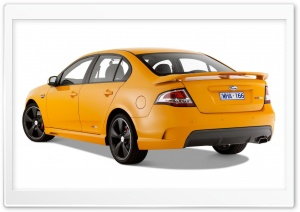 Orange FPV GT Car 2 HD Wide Wallpaper for Widescreen