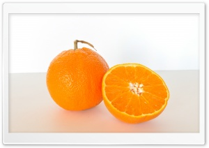 Orange Fruit HD Wide Wallpaper for Widescreen