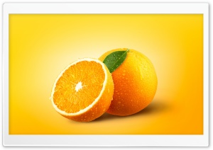 Orange Fruits HD Wide Wallpaper for 4K UHD Widescreen desktop & smartphone