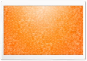 Orange Geometric Triangles Pattern Background Gradient Ultra HD Wallpaper for 4K UHD Widescreen desktop, tablet & smartphone