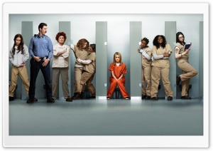 Orange Is the New Black Cast HD Wide Wallpaper for Widescreen