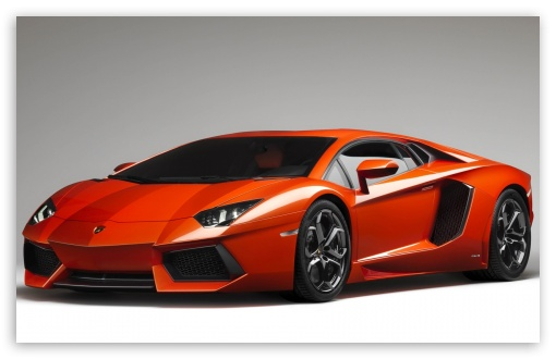 Orange Lamborghini Aventador HD wallpaper for Wide 16:10 5:3 Widescreen WHXGA WQXGA WUXGA WXGA WGA ; HD 16:9 High Definition WQHD QWXGA 1080p 900p 720p QHD nHD ; Mobile WVGA PSP - WVGA WQVGA Smartphone ( HTC Samsung Sony Ericsson LG Vertu MIO ) Sony PSP Zune HD Zen ;