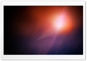 Orange Light Aero HD Wide Wallpaper for Widescreen