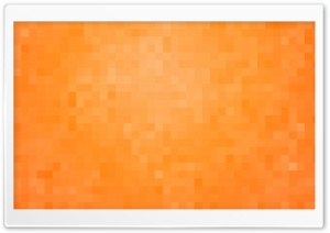 Orange Pixels Background HD Wide Wallpaper for 4K UHD Widescreen desktop & smartphone