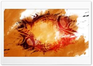 Orange Ring Ultra HD Wallpaper for 4K UHD Widescreen desktop, tablet & smartphone