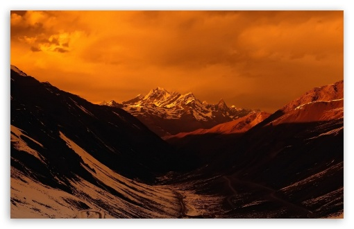 Orange Sky Mountain Landscape HD wallpaper for Wide 16:10 5:3 Widescreen WHXGA WQXGA WUXGA WXGA WGA ; HD 16:9 High Definition WQHD QWXGA 1080p 900p 720p QHD nHD ; Standard 4:3 5:4 3:2 Fullscreen UXGA XGA SVGA QSXGA SXGA DVGA HVGA HQVGA devices ( Apple PowerBook G4 iPhone 4 3G 3GS iPod Touch ) ; Tablet 1:1 ; iPad 1/2/Mini ; Mobile 4:3 5:3 3:2 16:9 5:4 - UXGA XGA SVGA WGA DVGA HVGA HQVGA devices ( Apple PowerBook G4 iPhone 4 3G 3GS iPod Touch ) WQHD QWXGA 1080p 900p 720p QHD nHD QSXGA SXGA ;