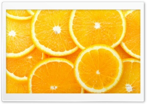 Orange Slices HD Wide Wallpaper for Widescreen