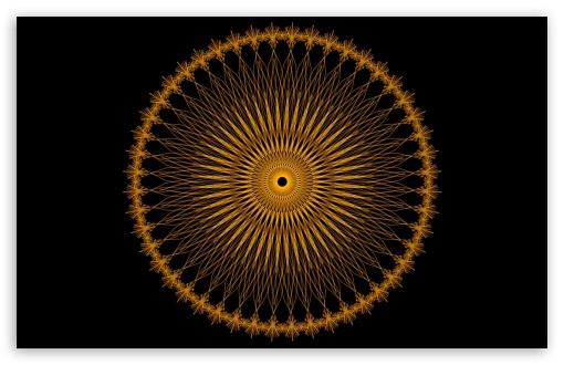 Download Orange Spirale UltraHD Wallpaper