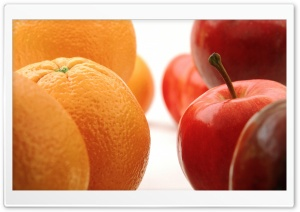Oranges and Apples HD Wide Wallpaper for Widescreen
