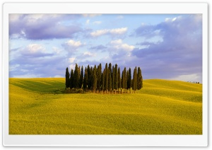 Orcia Valley, Italy HD Wide Wallpaper for Widescreen