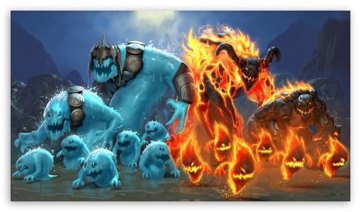 Orcs Must Die 2 Fire And Water HD wallpaper for HD 16:9 High Definition WQHD QWXGA 1080p 900p 720p QHD nHD ; Mobile 16:9 - WQHD QWXGA 1080p 900p 720p QHD nHD ;