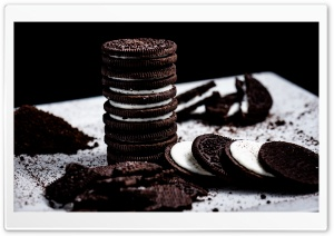 Oreo Cookies HD Wide Wallpaper for Widescreen