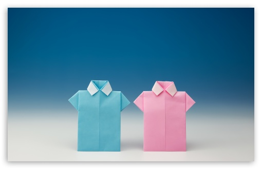 Origami Shirts HD desktop wallpaper