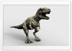 Origami T-rex HD Wide Wallpaper for 4K UHD Widescreen desktop & smartphone