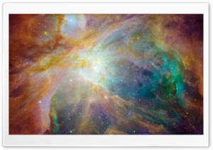 Orion Nebula HD Wide Wallpaper for Widescreen