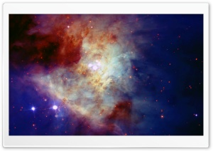 Orion Nebula HD Wide Wallpaper for 4K UHD Widescreen desktop & smartphone