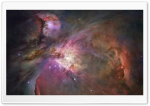 Orion Nebula - Hubble 2006 Mosaic HD Wide Wallpaper for Widescreen