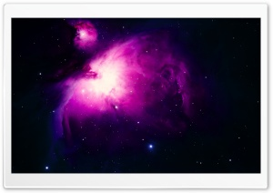Orion Nebula Background HD Wide Wallpaper for 4K UHD Widescreen desktop & smartphone
