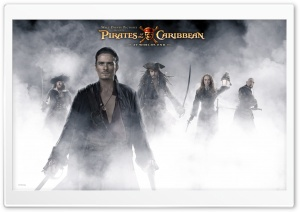 Orlando Bloom Pirates Of The Caribbean At World's End HD Wide Wallpaper for Widescreen